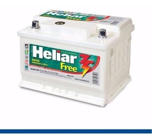 Batería Heliar 12v 75amp/ Instalada Y Test Sistema Electrico