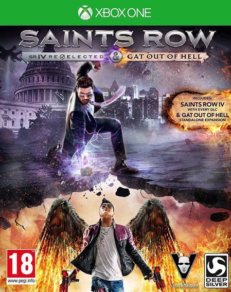 Jogo Saints Row 4 Re Elected Xbox One Xone Dlcs Frete Grátis