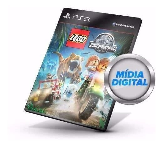 Lego Jurassic World Dublado Jogos Ps3 Digital Psn
