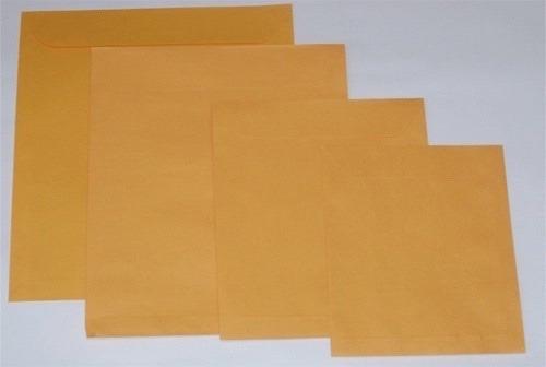 Sobres Manila Tamaño Carta Color Naranja Xpaquete 250 Sobres