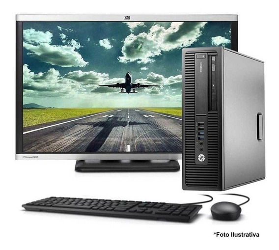 Computador Hp 800 G2 Core I5 6ªg 8gb Ssd 240gb + Monitor 22