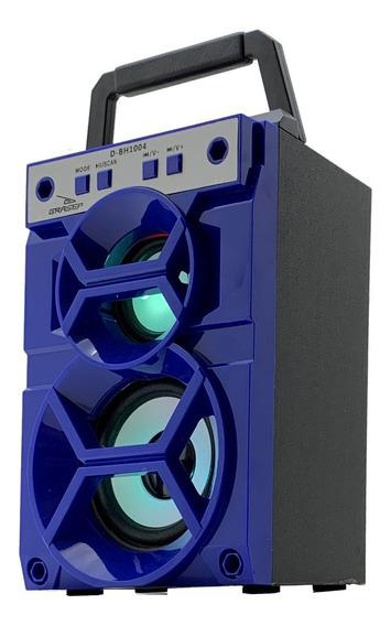 Caixa Som Bluetooth Portátil Amplificada Torre Mp3 Fm Usb Sd