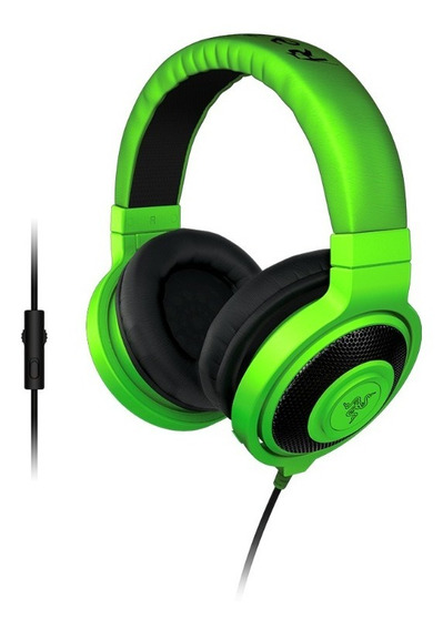 Headset Gamer Razer Kraken Pro Green P2 - Open Box (bgs 19)
