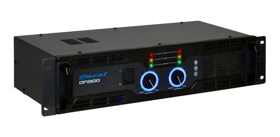 Amplificador Oneal Op-2100 Potencia 290w Rms