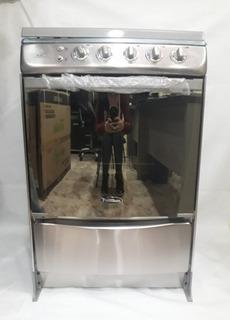 Cocina A Gas 4 Hornillas En Acero Premium Rubi