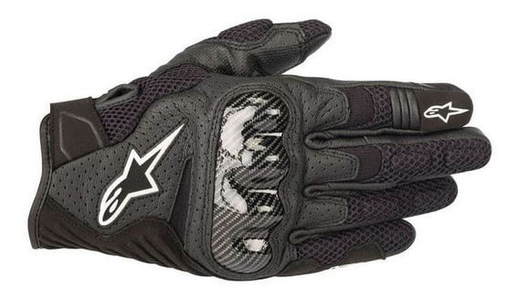 Luva Alpinestars Smx-1 Air V2 Preto Rs1