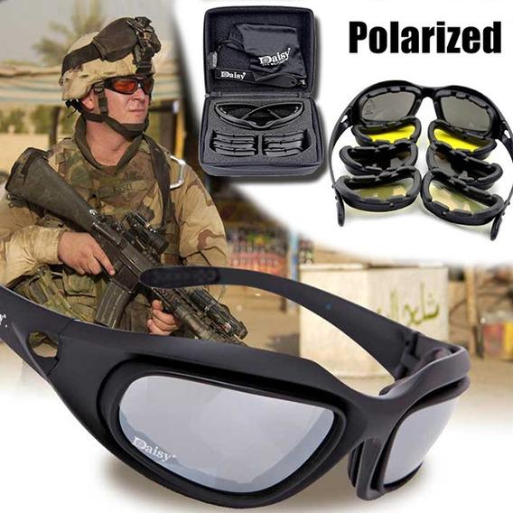 Gafas Tácticas Militares Intercambiables Daisy Uv400