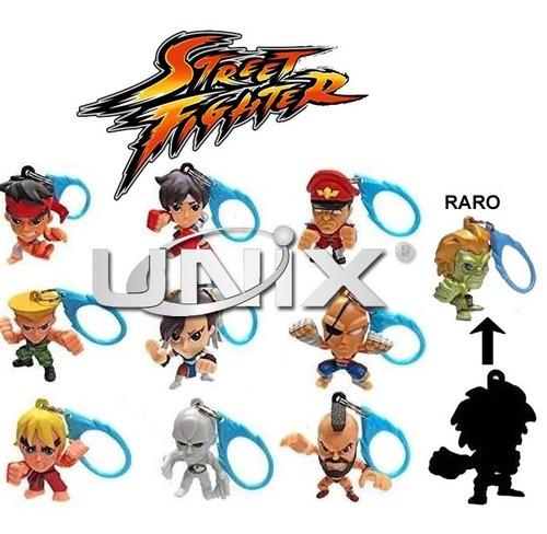 Coleção Chaveiro Street Fighter Mystery Hanger Raro Original