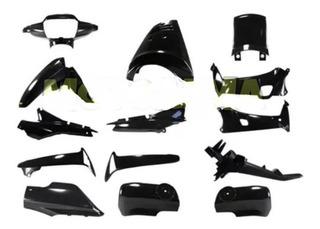 Kit Plasticos Honda Wave 14 Piezas Modelo Viejo Sin Calcos Hasta 2012 Mg