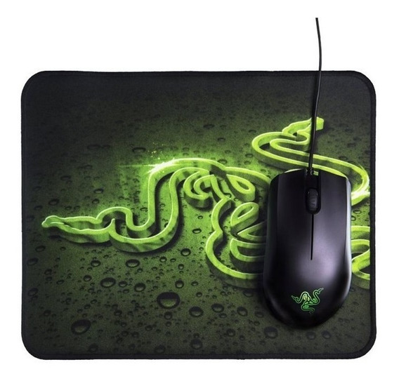 Combo Mouse Abyssus + Mousepad Goliathus Razer + Nota Fiscal