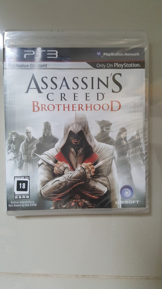 Jogo Ps3 - Assassins Creed Brotherhood - Original Lacrado