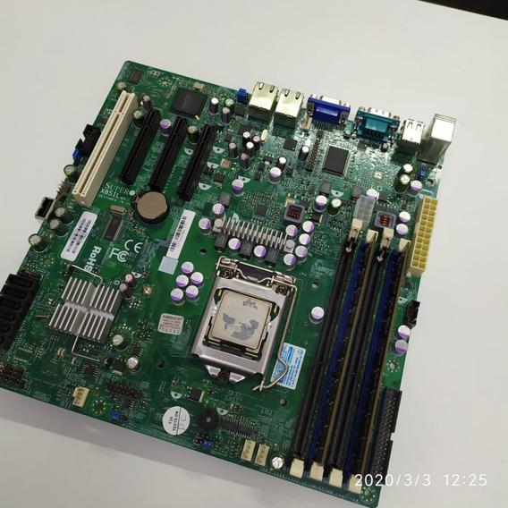 Placa Servidor Ddr3, 1156 X8sil Supermicro + Proc X3430+4gb