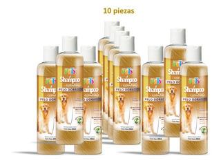 Kit Shampoo Essentials Pelo Dorado (10 Piezas)