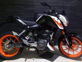 Motocicleta Ktm Duke 200 2018 0km Blanca