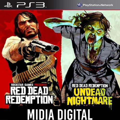 Red Dead Redemption & Undead Nightmare - Ps3 Psn*