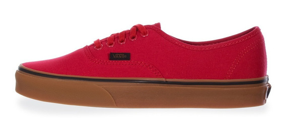 Tenis Vans Authentic | Unisex | Rojo | Liga Original 38emmlp