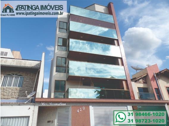 Apartamento - Alto Padrão, Para Venda Em Ipatinga/mg - Imob37