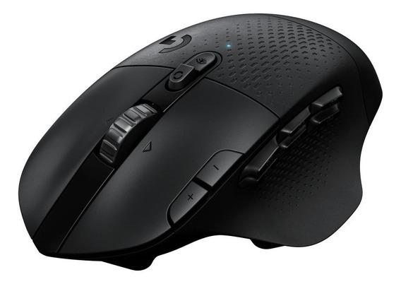 Mouse para jogo sem fio Logitech Lightspeed G Series G604 preto
