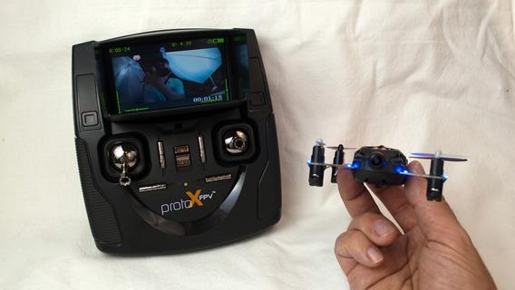 Mini Drone Proto X Fpv - Com Tela De Lcd