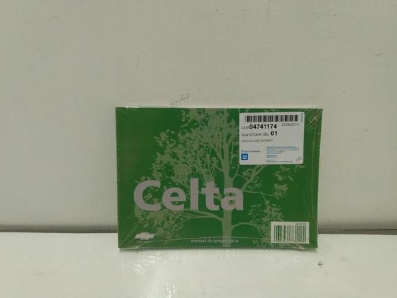 Manual Proprietário Celta 07/16 Original Gm - 94741174