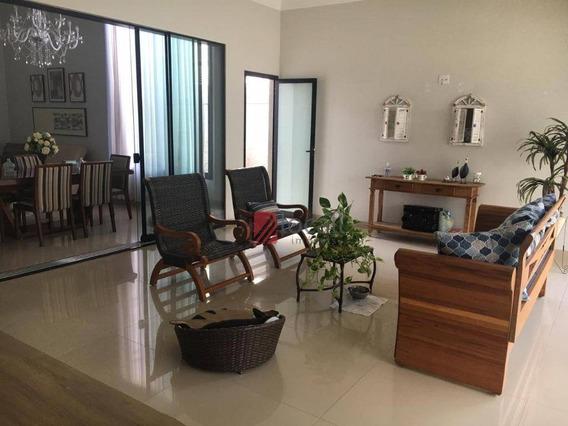 Casa Com 3 Dormitórios À Venda, 260 M² Por R$ 1.100.000,00 - Condominio Golden Park Residence - Mirassol/sp - Ca2377
