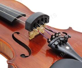 Surdina Abafador De Borracha Para Violino E Viola De Arco