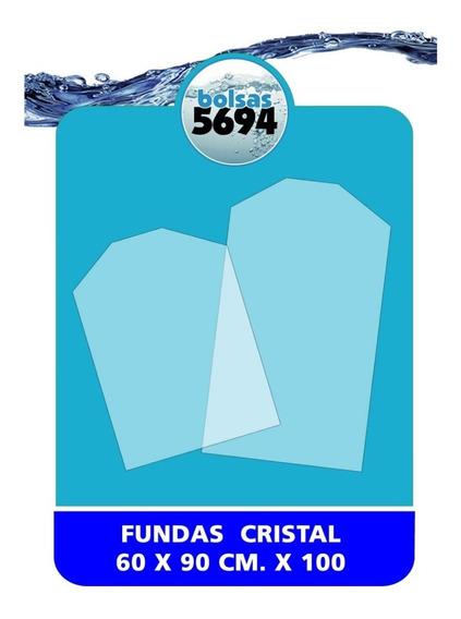Bolsas Fundas Trajes Polietileno Cristal 60x90 Cm X 100 Unid