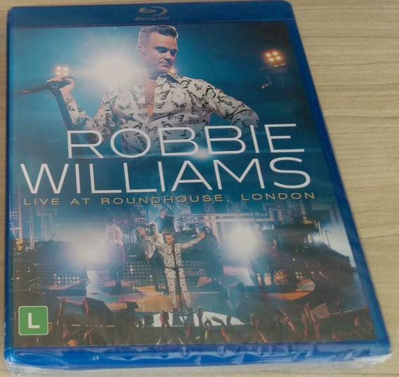Blu-ray Robbie Williams Live At Roundhouse London Lacrado