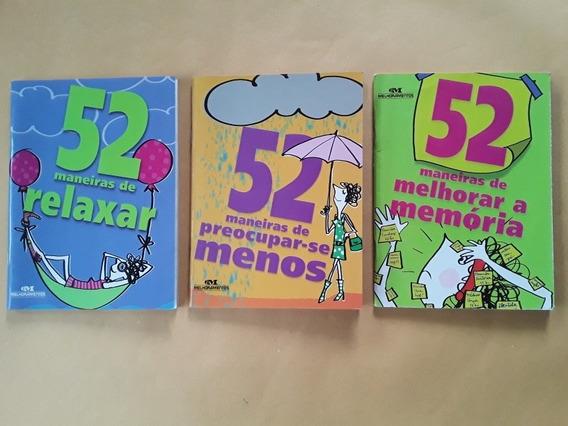 Lote 3 Livros Coleção 52 Maneiras - Seminovos