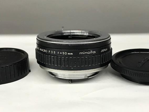 Tubo Extensão For Md Minolta Mc Macro 50mm F3.5 .(analógica)