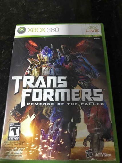 Jogo Xbox 360 Transformers Revenge Of The Fallen Original