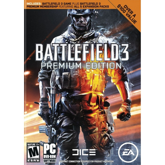 Battlefield 3 Premium Edition Pc - 100% Original Origin Key