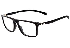 b321f416d Óculos De Grau Hb Polytech M 93145 Gloss Black Lente 5,2 Cm