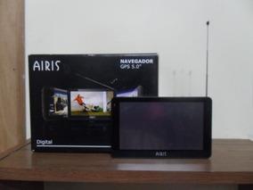 Navegador Gps Automotivo Airis D500 Tv 5.0 Leia Descrição