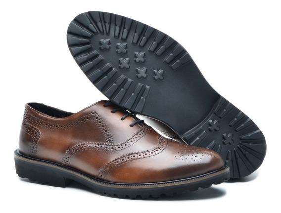 Sapato Masculino Social Em Couro Tamanhos 36 Ao 49.