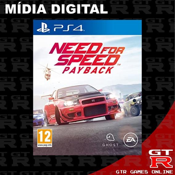 Need For Speed Payback Ps4 Primaria Vitalicia Psn Envio Ja