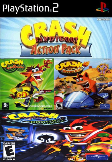 Patch Crash Colection 3x1 Play 2 Ps2 Play2