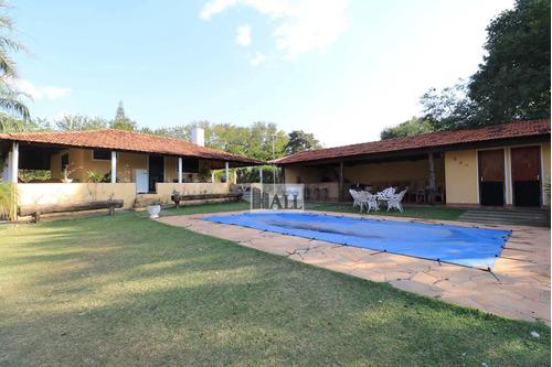 Chácara À Venda Na Estância Navarrete Com 6 Quartos, 28.400 M² - V4762