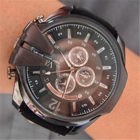 Relógio Masculino Super Speed V6 Pulseira De Couro Barato