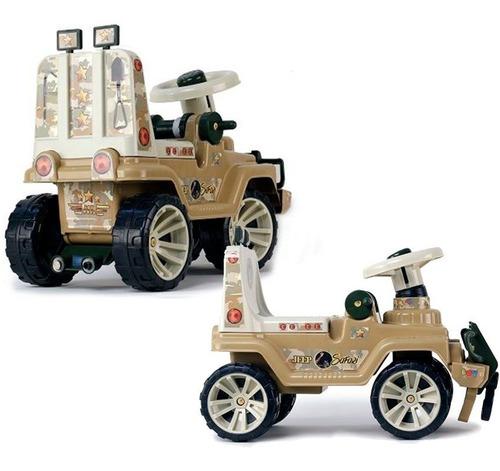 Carro Montable Para Niños Juguete De Plástico Jeep Safari
