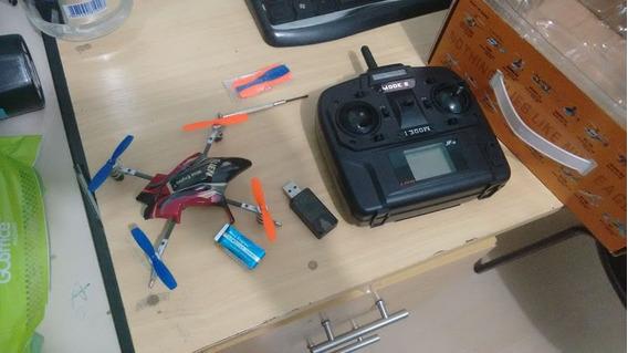 Drone Quadricoptero Nine-eagle Alien Semi-novo Completo