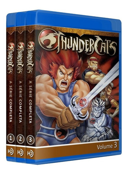 Dragon Ball Em Dvd + Thundercats Em Bluray