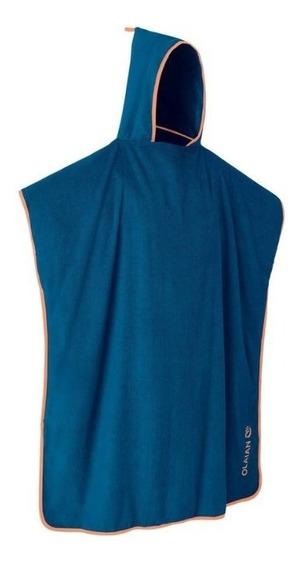 Poncho Adulto Para Secado De Alberca Pon Celtic Azul