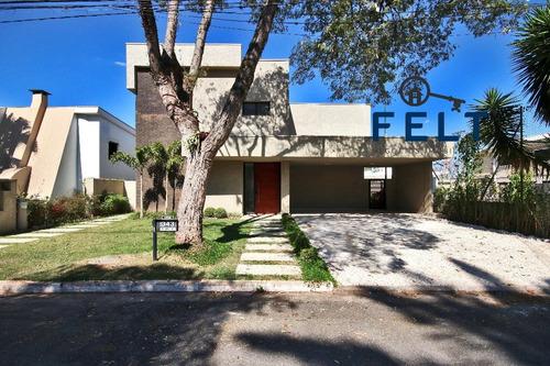 Casa Em Condominio - Alphaville Residencial Dois - Ref: 1663 - L-1663