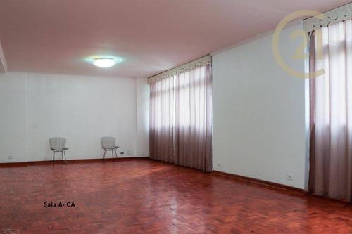 Imagem 1 de 15 de Apartamento Com 3 Dormitórios, 163 M² - Venda Por R$ 1.530.000,00 Ou Aluguel Por R$ 5.500,00/mês - Jardim Paulista - São Paulo/sp - Ap23639