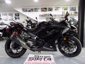 Kawasaki Ninja300 Negra 2013
