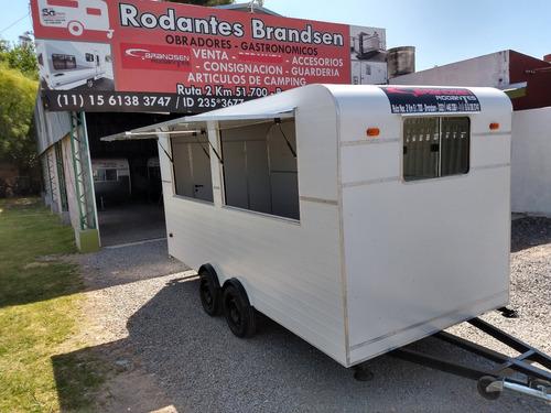 Food Truck Rodantes Brandsen Trailer Gast 4,50  D-eje Balan