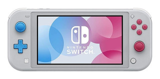 Nintendo Switch Lite 32GB Zacian and Zamazenta Edition gris y cian y magenta