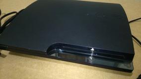 Playstation 3 Slim Excelente Estado Com 3 Jogos Na Memória