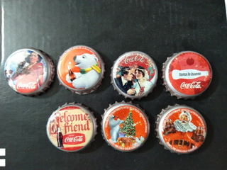 Tapas Coca - Cola 125 Años Y Navidad - Sueltas Precio X C/u